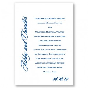 Love By Design Classic Wedding Invitations