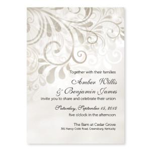 Loves Splendor Wedding Invitations