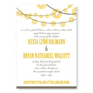 Luster Wedding Invitations