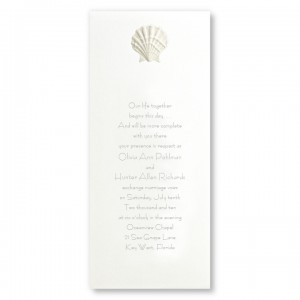 Majestic Beach Wedding Invitations