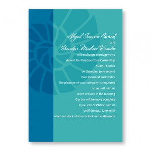 Nautilus Shell Beach Invitations