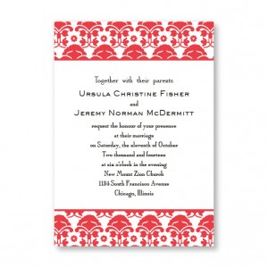 Ornately Yours Wedding Invitations