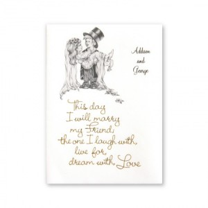 Over the Threshold Couple Wedding Invitations