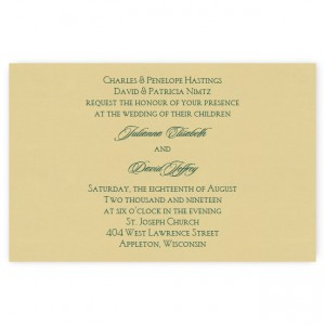 Paige Classic Wedding Invitations