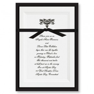Renaissance Heart Wedding Invitations