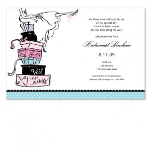 Stack Bride Invitations