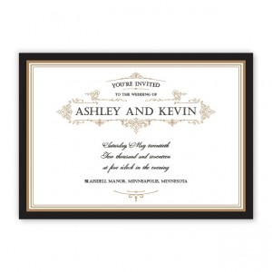 Sterling Classic Wedding Invitations