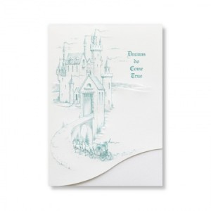 Storybook Ending Castle Wedding Invitations