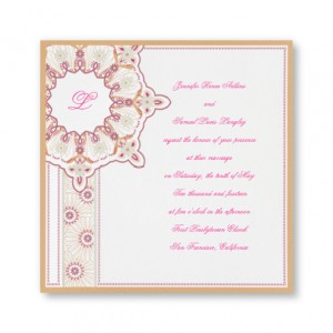 Unique Marrakech Wedding Invitations