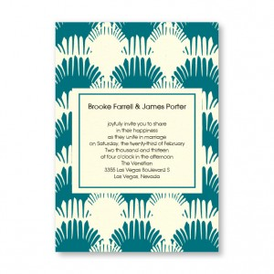 Wedding By the Sea Beach Wedding Invitations