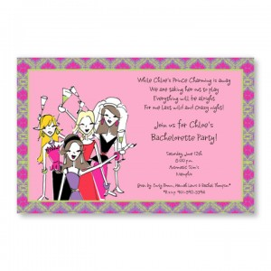 Wedding Girls Invitations