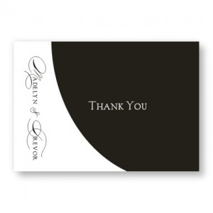A La Mode Thank You Cards