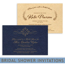 bridal shower invitations by mygatsby