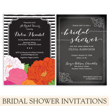 bridal shower invitations by the green kangaroo