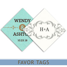 wedding favor tags by mygatsby