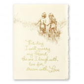 Friends Forever Wedding Invitations