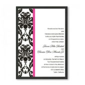 Victoria Damask Wedding Invitations
