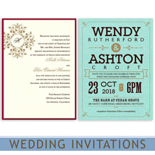 wedding invitations by mygatsby