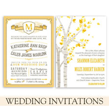wedding invitations by the green kangaroo
