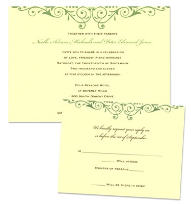 Serena Wedding Invitations All Wedding Invitations Wedding Invitations from mygatsby.com