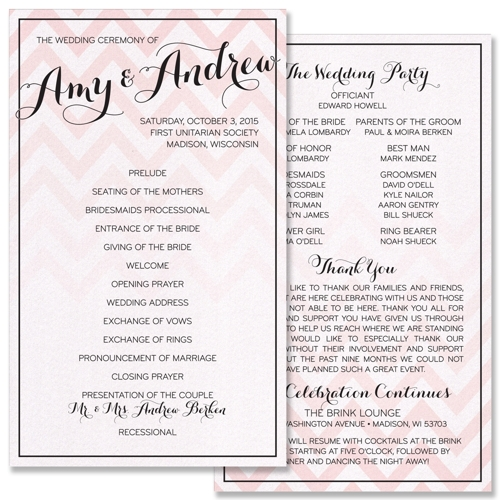 Ombre-chevron-stripe-modern-wedding-ceremony-program_large