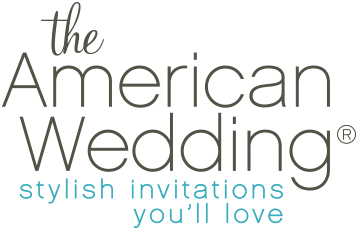 the American Wedding - Stylish Wedding Invitations you'll love